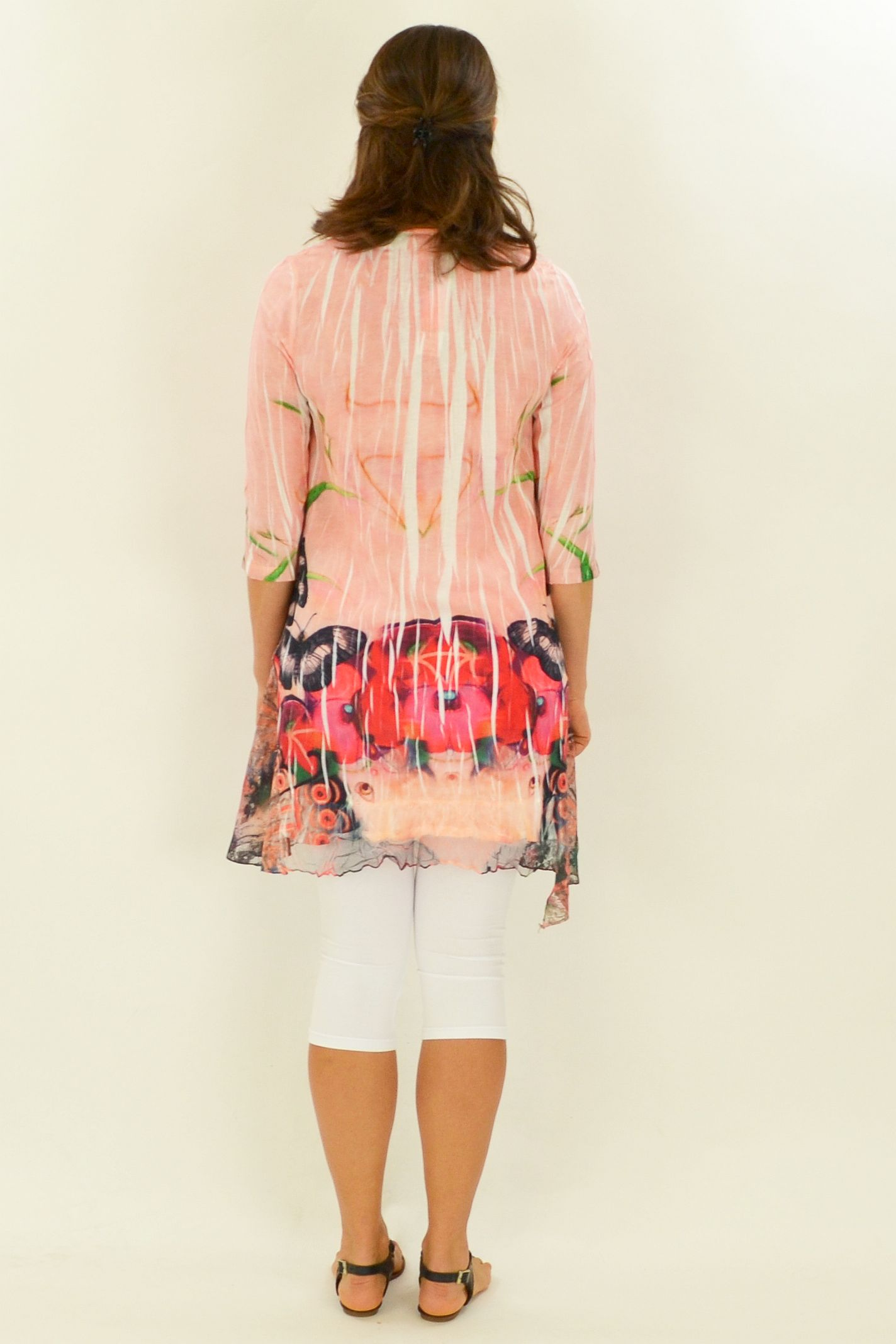Poppies and Butterflies Tunic - at I Love Tunics @ www.ilovetunics.com = Number One! Tunics Destination