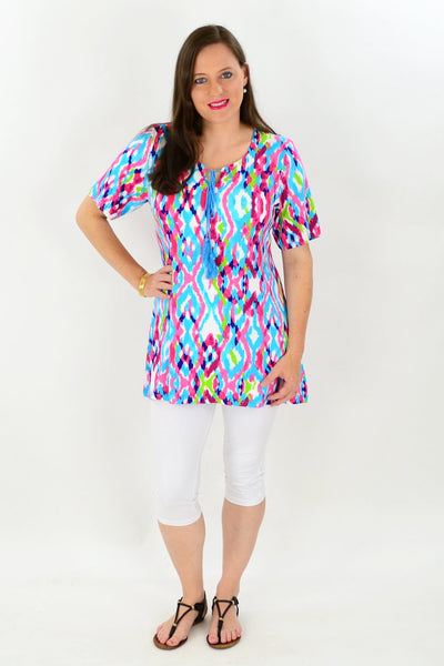 Louisiana Tunic Top