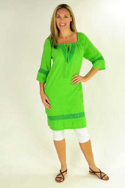 Leaf Green Tunic