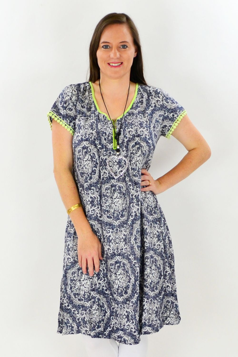Navy Victorian Tunic Dress | I Love Tunics | Tunic Tops | Tunic | Tunic Dresses  | womens clothing online