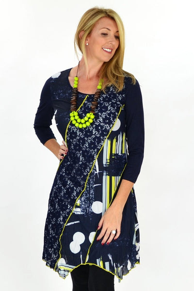 Long Gabriella Tunic - at I Love Tunics @ www.ilovetunics.com = Number One! Tunics Destination