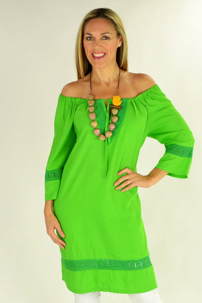 Leaf Green Tunic | I Love Tunics | Tunic Tops | Tunic | Tunic Dresses  | womens clothing online