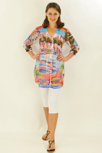 Venice Vista Tunic Shirt