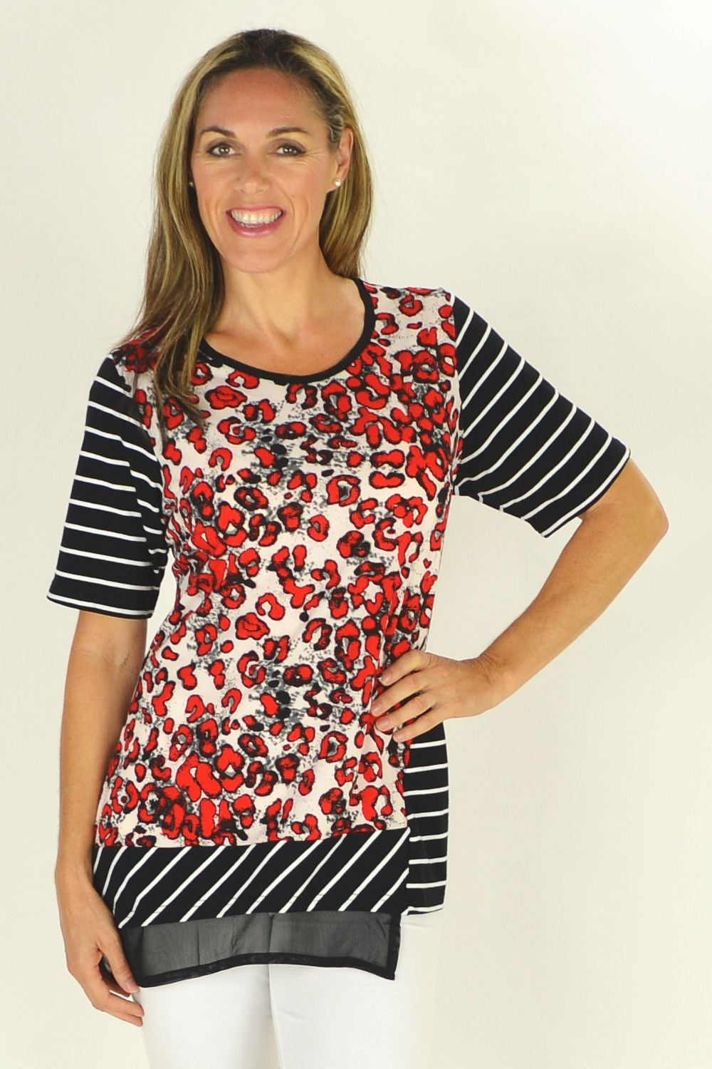 Beverly Tunic | I Love Tunics | Tunic Tops | Tunic Dresses | Women's Tops | Plus Size Australia | Mature Fashion