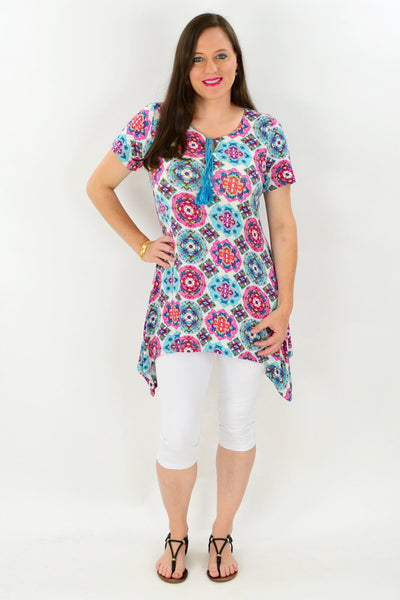 Louisiana Floral Tunic Top