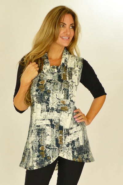 Printed Mia Tunic - at I Love Tunics @ www.ilovetunics.com = Number One! Tunics Destination