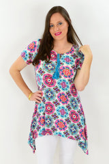 Louisiana Floral Tunic Top | I Love Tunics | Tunic Tops | Tunic | Tunic Dresses  | womens clothing online