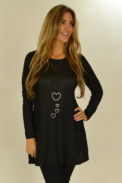 Black Lucy Line Tunic