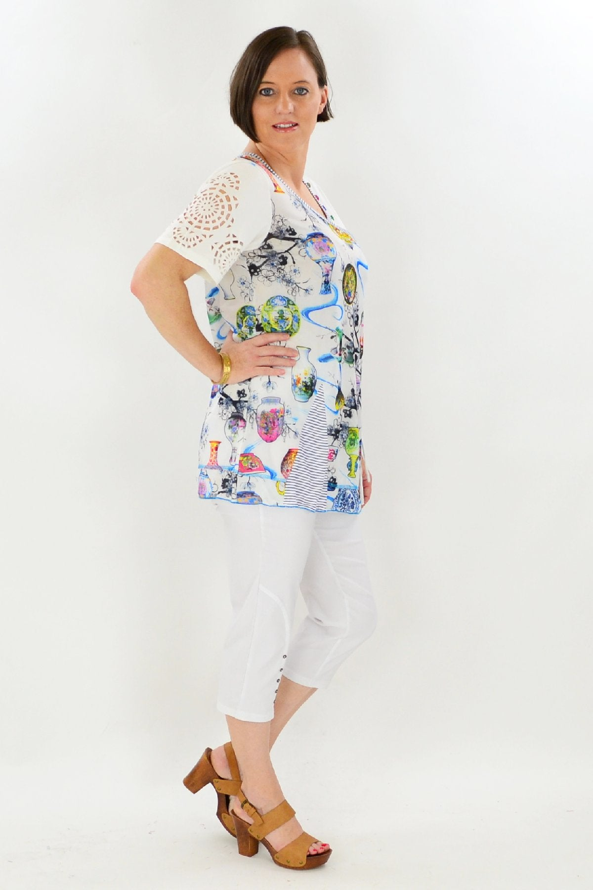 Tea Party Tunic Top | I Love Tunics | Tunic Tops | Tunic | Tunic Dresses  | womens clothing online