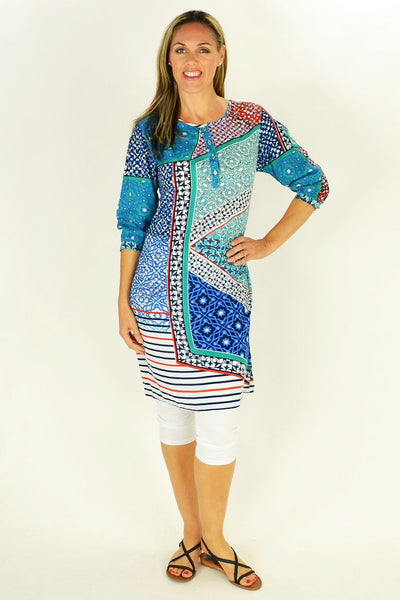 Picasso Tunic Dress by Orientique