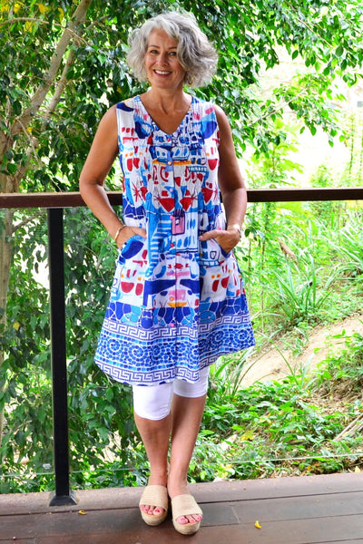 Orientique Little Venice Dress | I Love Tunics | Tunic Tops | Tunic | Tunic Dresses  | womens clothing online