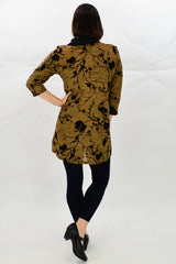 Gold Cherry Blossom Tunic | I Love Tunics | Tunic Tops | Tunic | Tunic Dresses  | womens clothing online