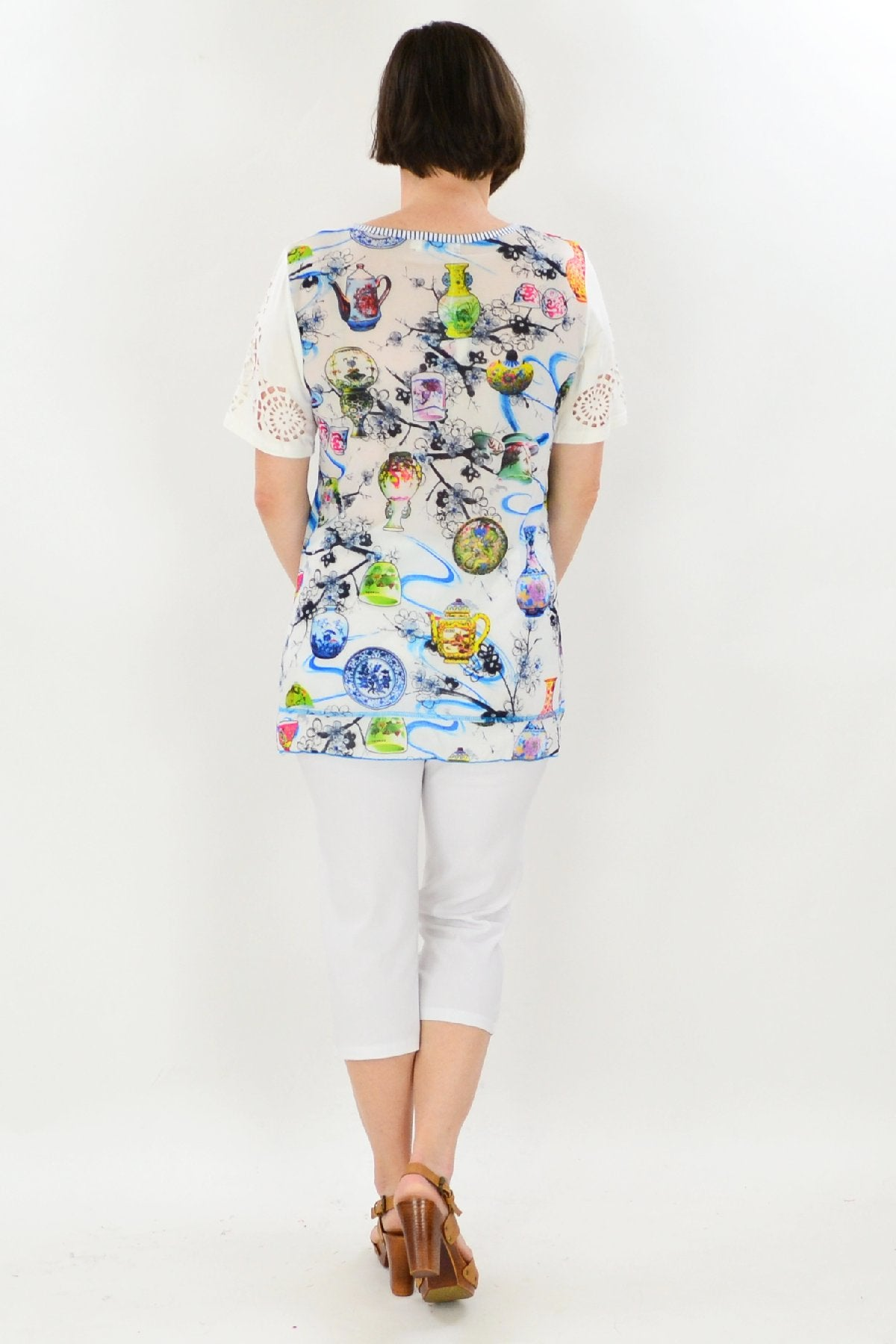 Tea Party Tunic Top