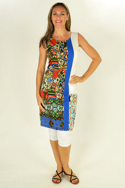 Abstract Garden Tunic