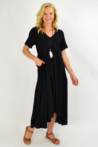 Black Maxi Tunic Dress