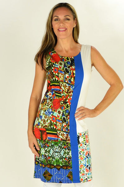 Abstract Garden Tunic - at I Love Tunics @ www.ilovetunics.com = Number One! Tunics Destination