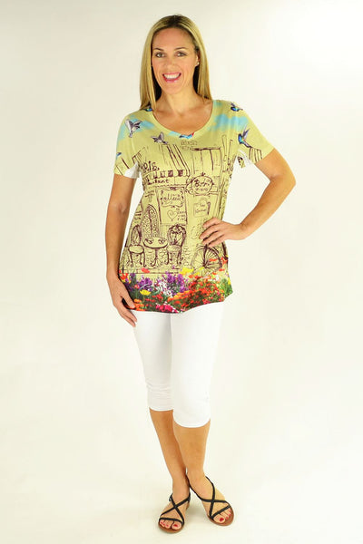 Birds of Paris Tunic