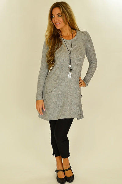 Grey Lucy Line Tunic