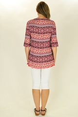 Relaxed Ruby Tunic - at I Love Tunics @ www.ilovetunics.com = Number One! Tunics Destination