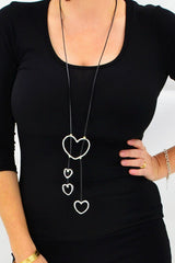 4 Hearts Necklace | I Love Tunics | Tunic Tops | Tunic Dresses | Women's Tops | Plus Size Australia | Mature Fashion