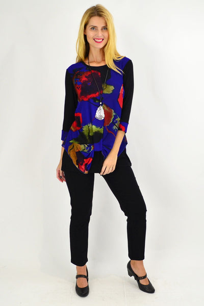 Pop of Colour Tunic Top