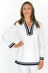 White Sailor Tunic | I Love Tunics | Tunic Tops | Tunic | Tunic Dresses  | womens clothing online