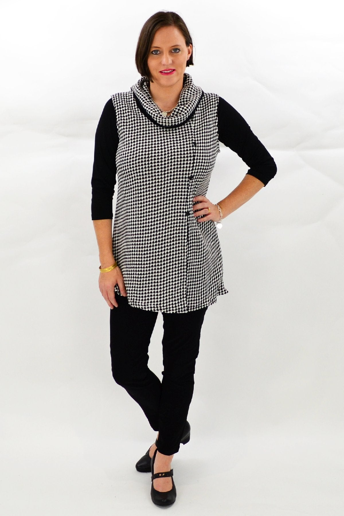 White Brunswick Tunic