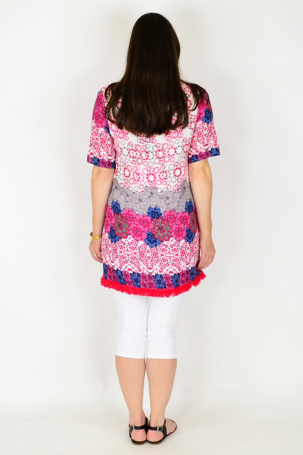 Phoebe Flower Tunic Top | I Love Tunics | Tunic Tops | Tunic | Tunic Dresses  | womens clothing online