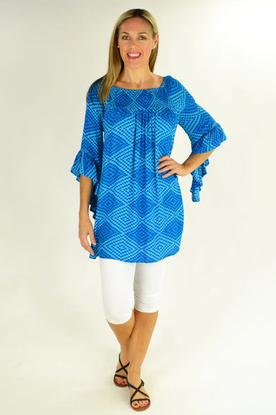 Blue Diamond Tunic