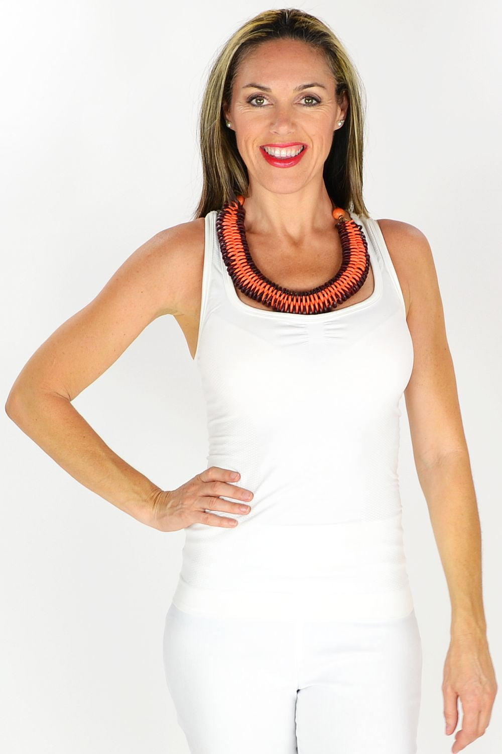 Renee Necklace - at I Love Tunics @ www.ilovetunics.com = Number One! Tunics Destination