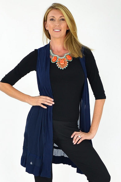 Threadz Agnes Vest - at I Love Tunics @ www.ilovetunics.com = Number One! Tunics Destination