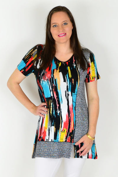 Line Up Tunic Top | I Love Tunics | Tunic Tops | Tunic | Tunic Dresses  | womens clothing online