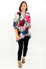 Pink Jolene Tunic Top