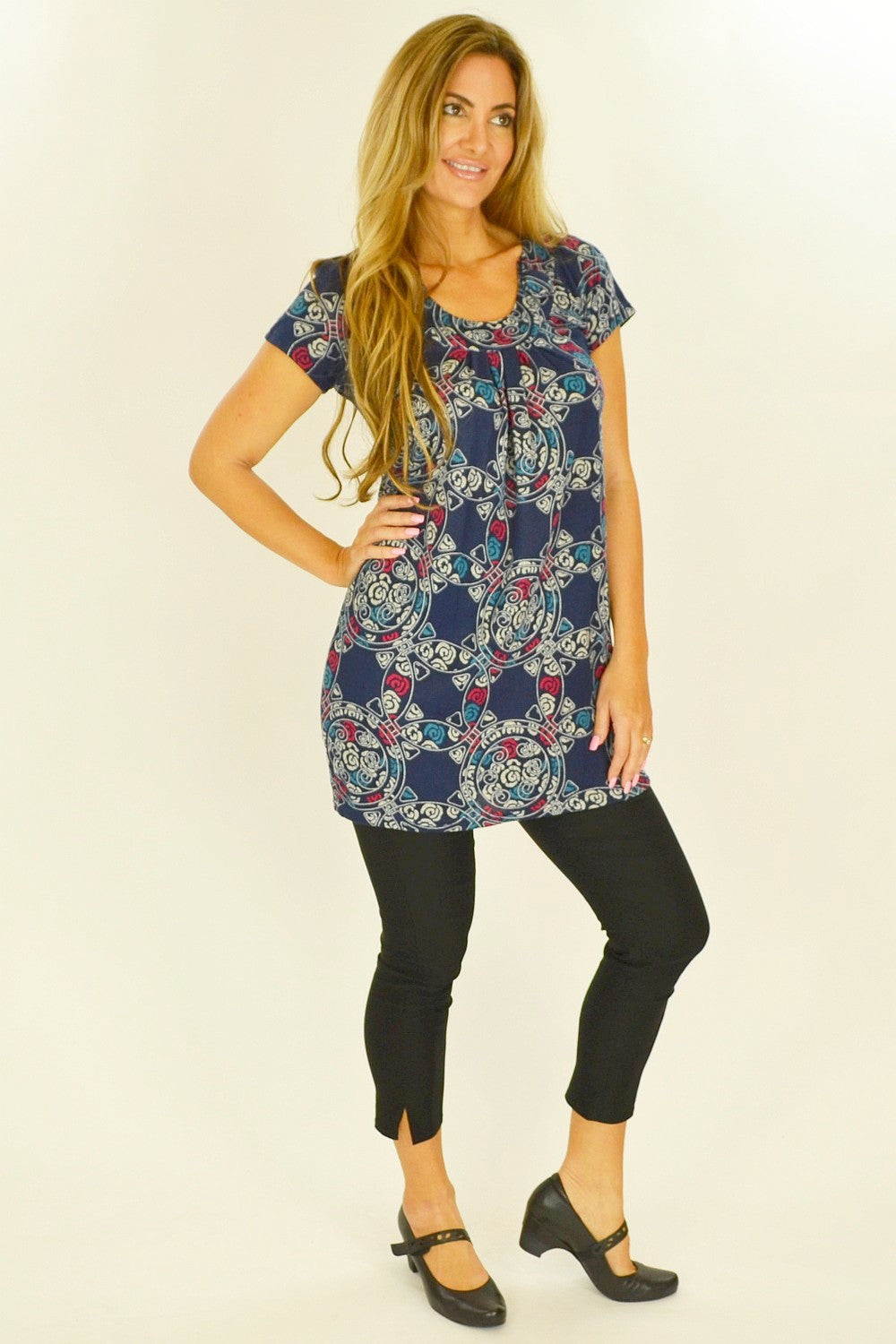Jocelyn Tunic - at I Love Tunics @ www.ilovetunics.com = Number One! Tunics Destination