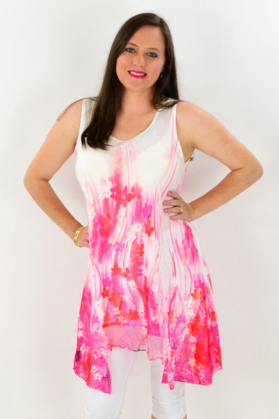 Strawberries n Cream Tunic - at I Love Tunics @ www.ilovetunics.com = Number One! Tunics Destination