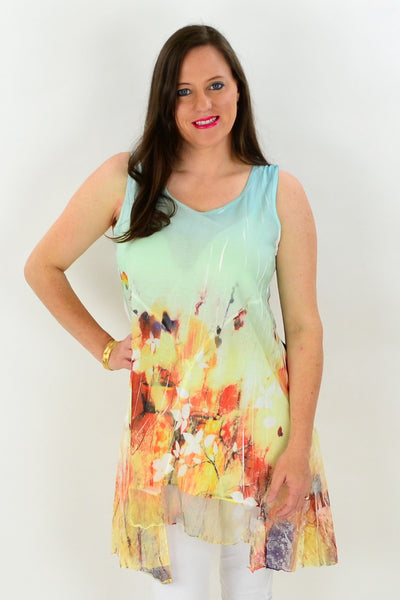 Fire n Water Tunic - at I Love Tunics @ www.ilovetunics.com = Number One! Tunics Destination