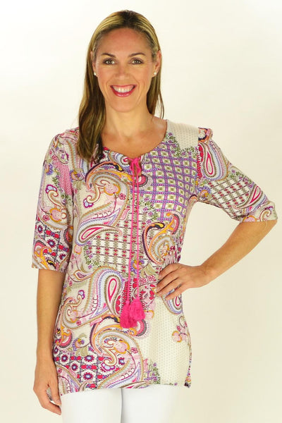 Paisley Princess Tunic - at I Love Tunics @ www.ilovetunics.com = Number One! Tunics Destination