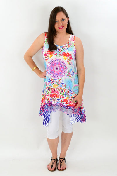 Colourful Paint Slash Tunic