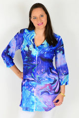 Oceana Tunic Shirt - at I Love Tunics @ www.ilovetunics.com = Number One! Tunics Destination