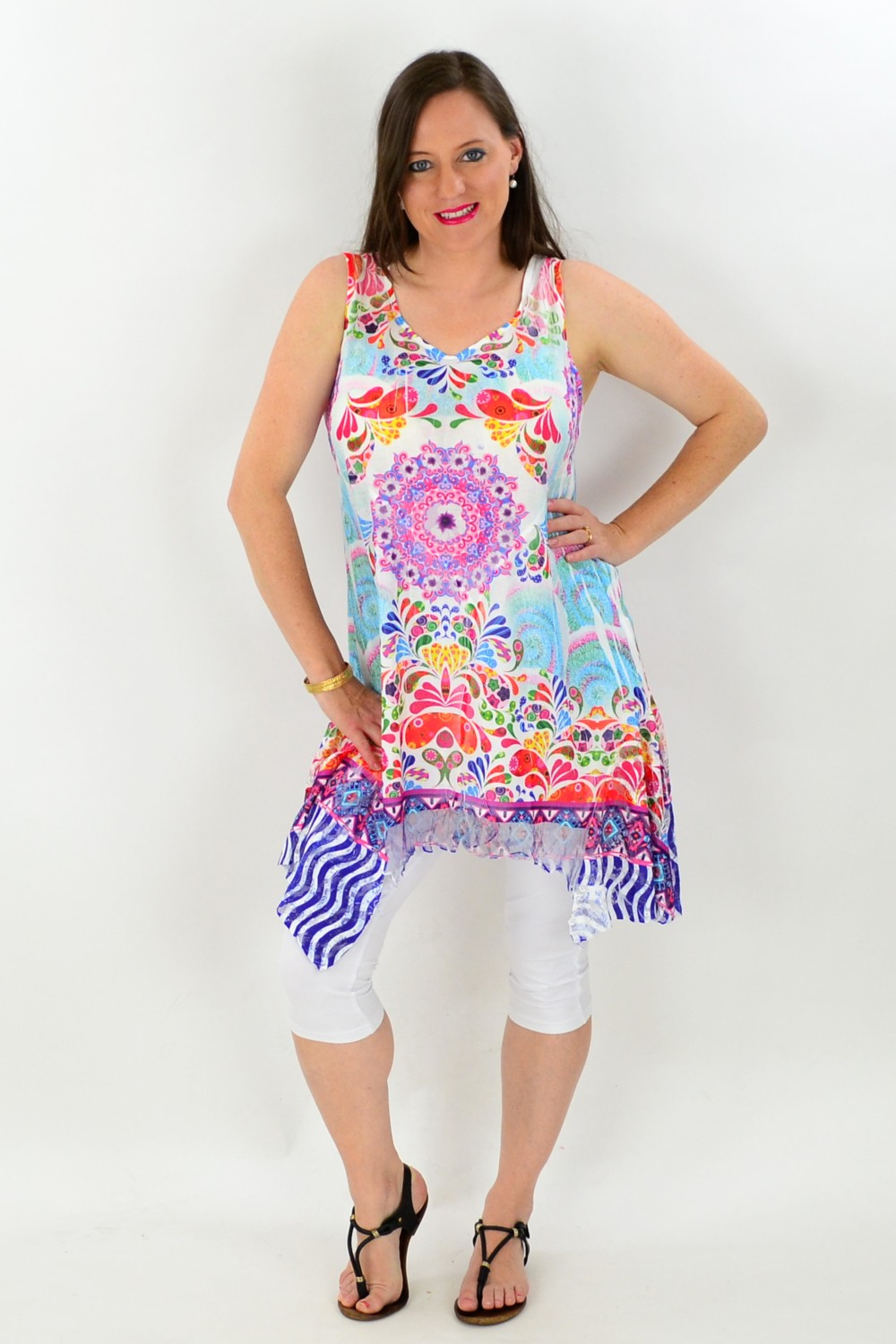 Colourful Paint Slash Tunic | I Love Tunics | Tunic Tops | Tunic | Tunic Dresses  | womens clothing online