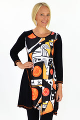 Art Tunic | I Love Tunics | Tunic Tops | Tunic Dresses | Women's Tops | Plus Size Australia | Mature Fashion