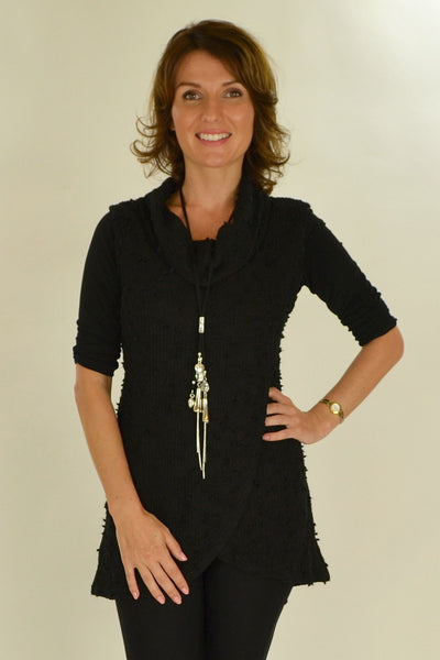 Black Knit Mia Tunic
