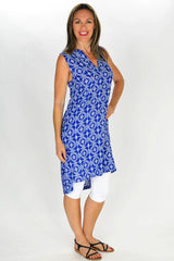 Snow Flake Tunic - at I Love Tunics @ www.ilovetunics.com = Number One! Tunics Destination