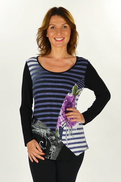 Peppas Purple Tunic - at I Love Tunics @ www.ilovetunics.com = Number One! Tunics Destination