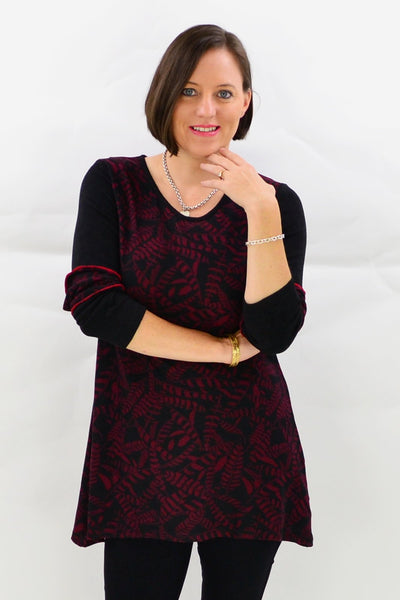 Essendon Tunic Top - at I Love Tunics @ www.ilovetunics.com = Number One! Tunics Destination