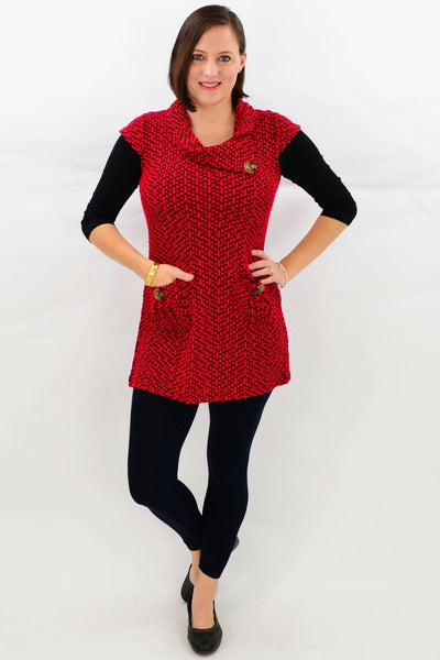 Addison Winter Tunic Top