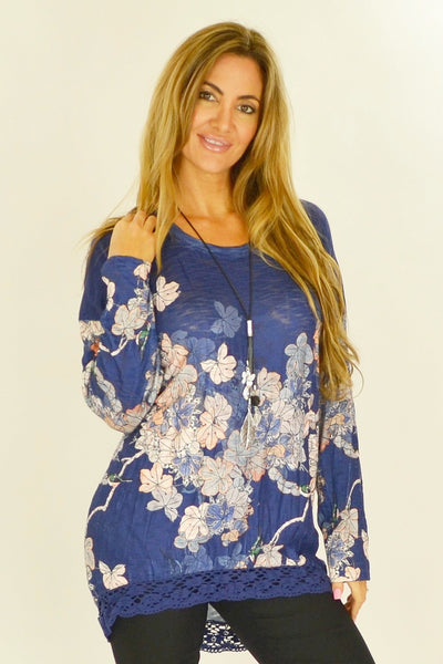 Fiona Floral Tunic
