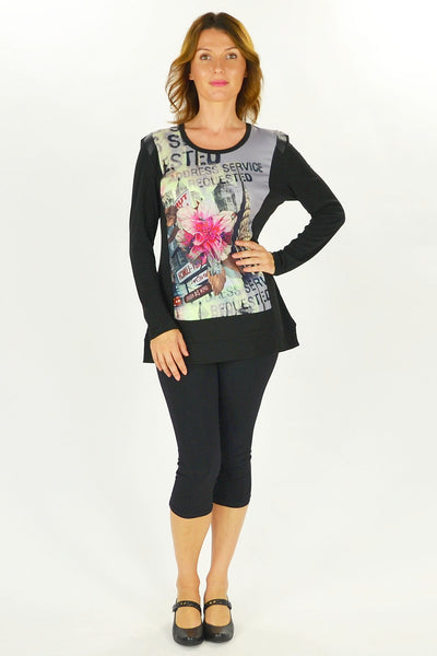 New York Flower Tunic