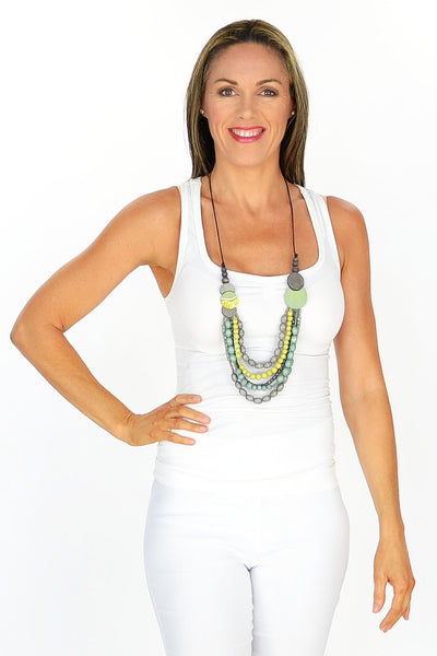 Green Tribal Necklace