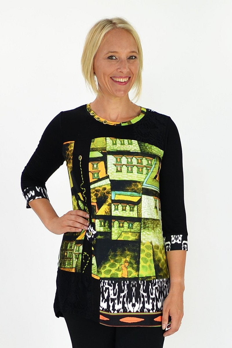Lane Way Tunic - at I Love Tunics @ www.ilovetunics.com = Number One! Tunics Destination